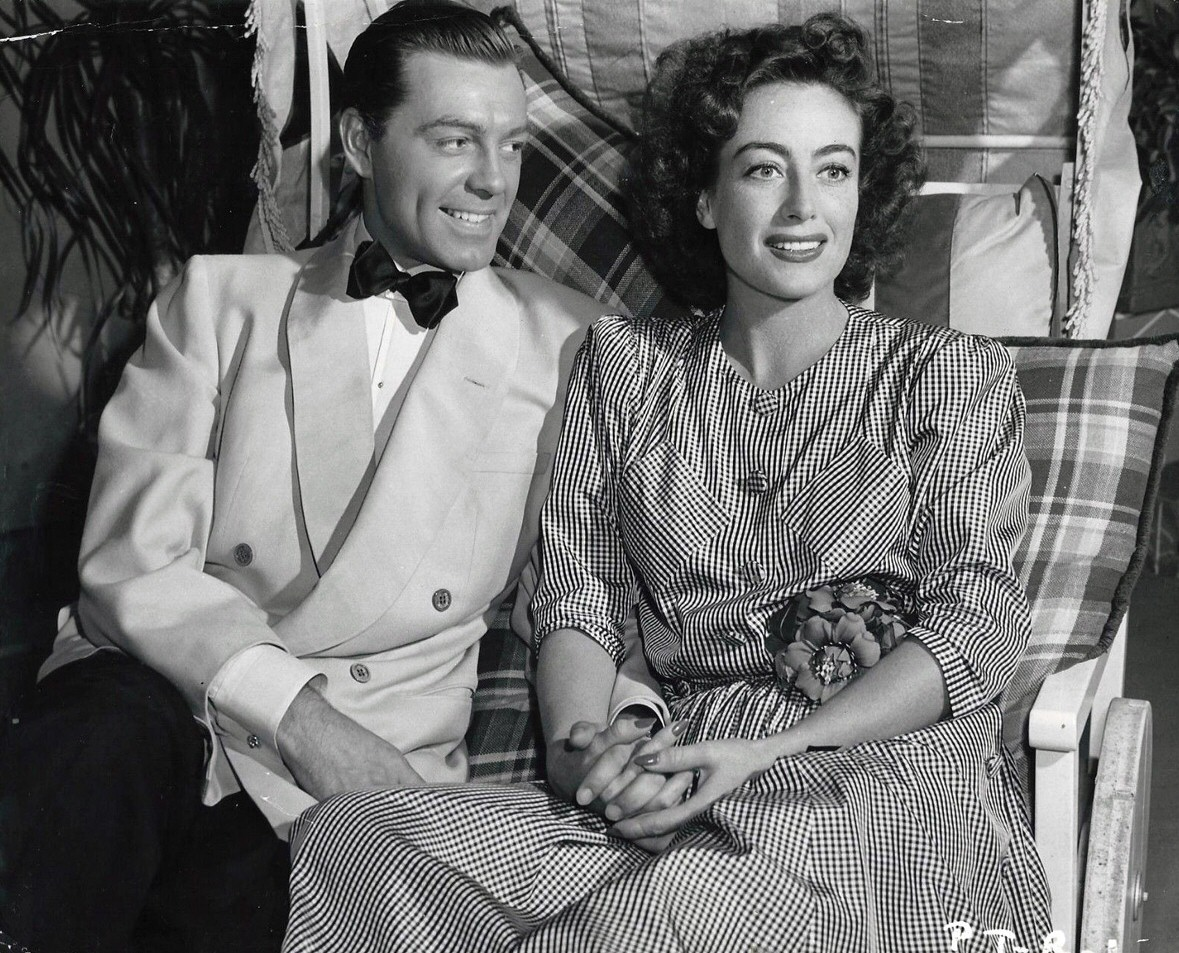 Circa 1945, with husband Phil Terry.