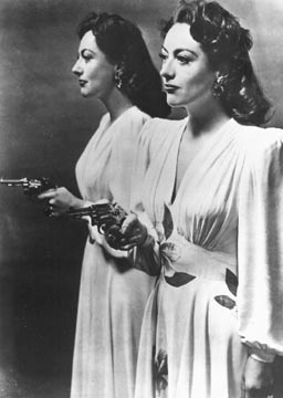 Publicity for 'Mildred Pierce.'