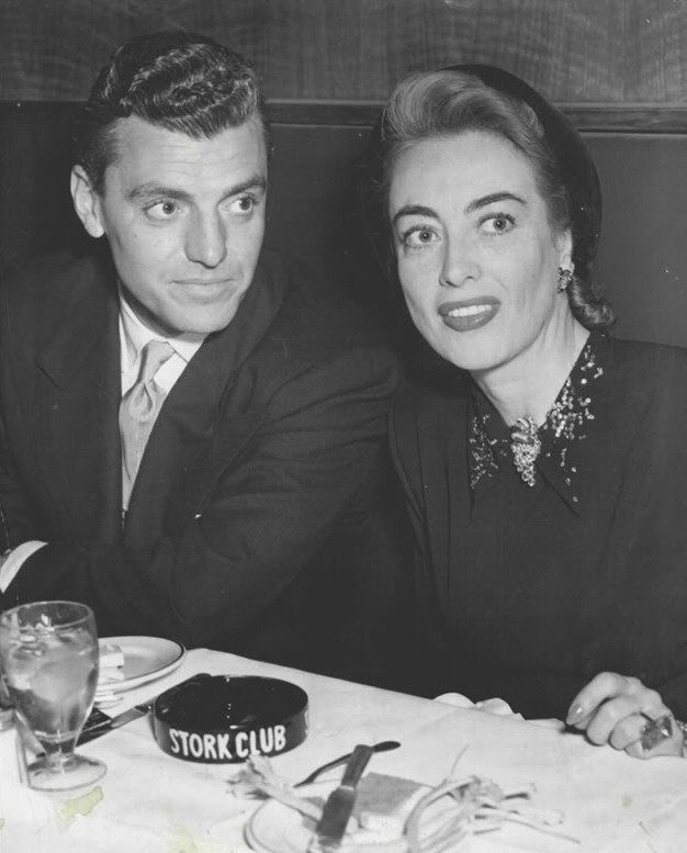 1946. With lawyer Greg Bautzer at the Stork Club.