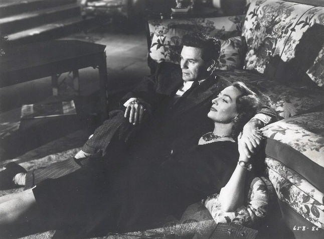 1946. With John Garfield in 'Humoresque.'