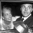 1948 at Ciro's, with lawyer Greg Bautzer. In the Cadillac that she'd given him.