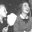5/25/48. At the Clyde Beattie Circus with Christina and Christopher.
