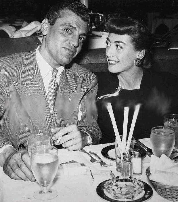1948. With Greg Bautzer at Ciro's.