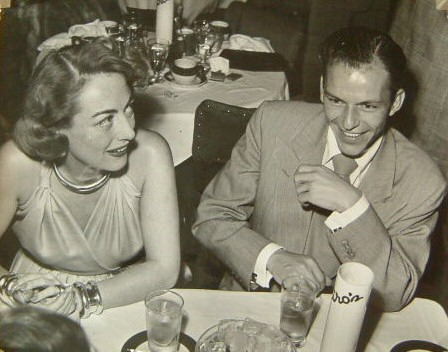 1948. With Sinatra at Ciro's.