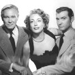 1949. Publicity for 'Flamingo Road,' with David Brian (left) and Zachary Scott.