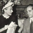 1949. With Frank Capra on his 'Riding High' set.
