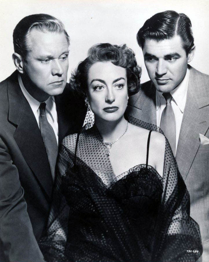 1950. 'The Damned Don't Cry.' With David Brian and Steve Cochran.