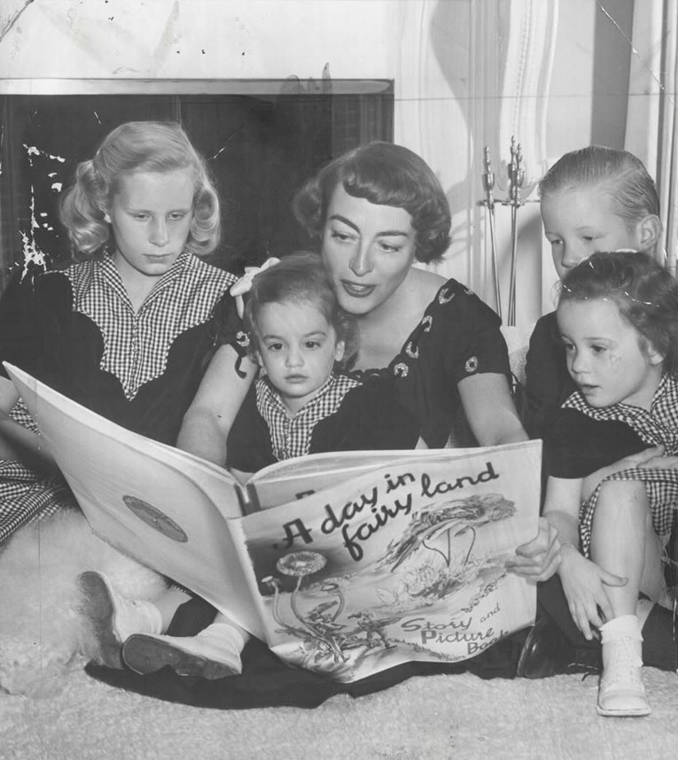 October 1950. At home with the family.