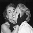 11/30/51. Joan congratulates Dinah Shore on her new show.