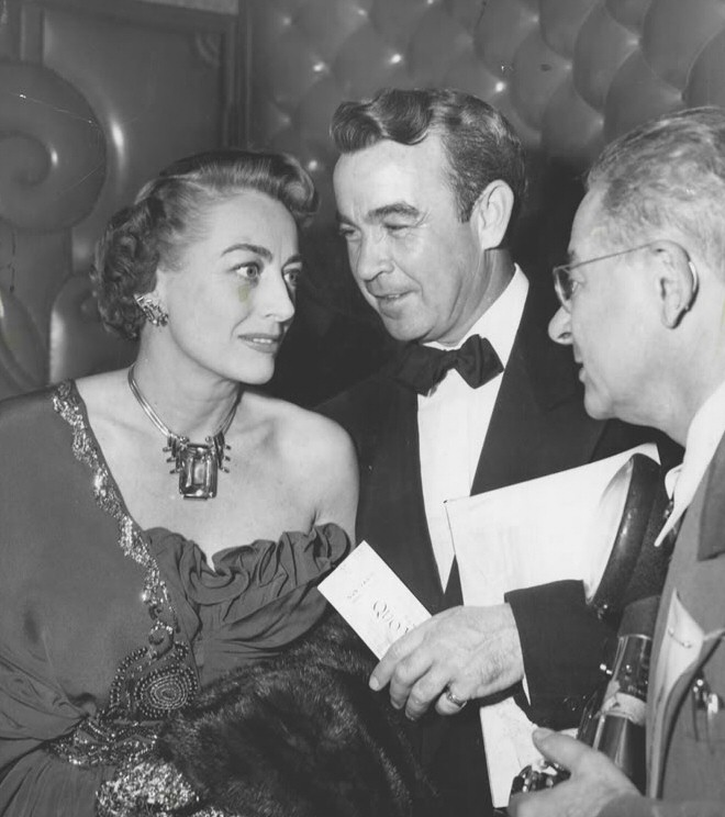 December 1951. With writer Mel Dinelli (center).