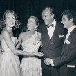 Sept. 1951 at Mocambo with Janet Leigh, Cesar Romero, Tony Curtis.