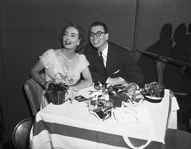 4/29/51. With Russell Nype at the Stork Club.