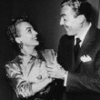July 1952, with Cesar Romero at his apartment.