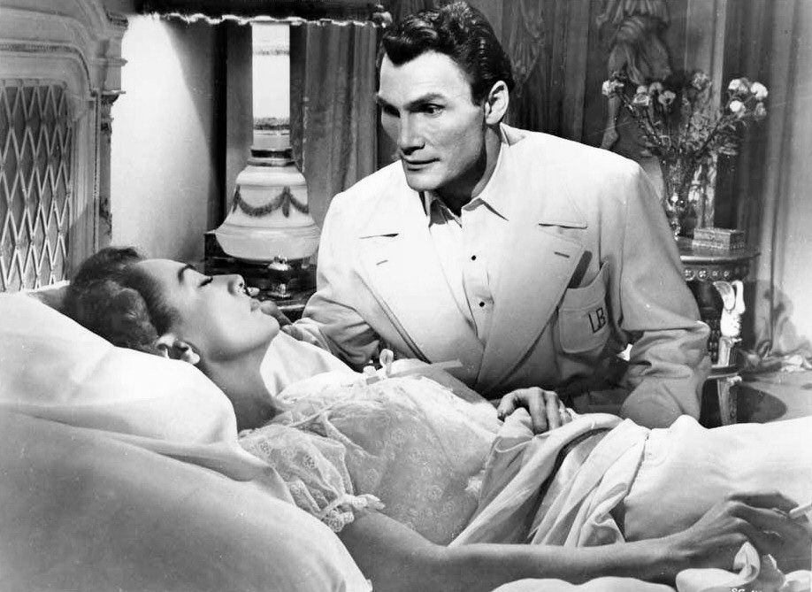 1952. 'Sudden Fear.' With Jack Palance.