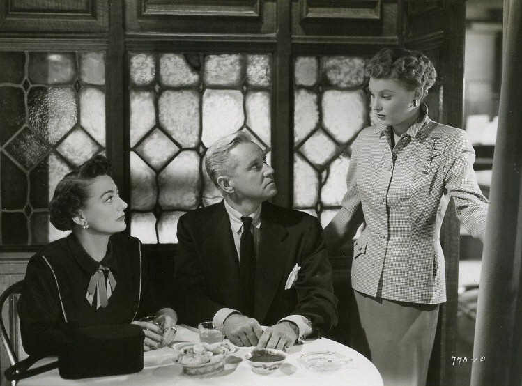 1952. 'This Woman Is Dangerous.' With David Brian and Mari Aldon.