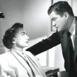 Film still with Dennis Morgan.