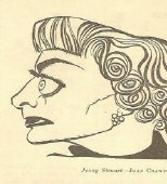 1953. Joan as Jenny Stewart in 'Torch Song.' Appeared in UK's 'Punch.'
