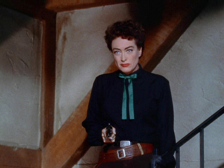 1954 screen shot from 'Johnny Guitar.'