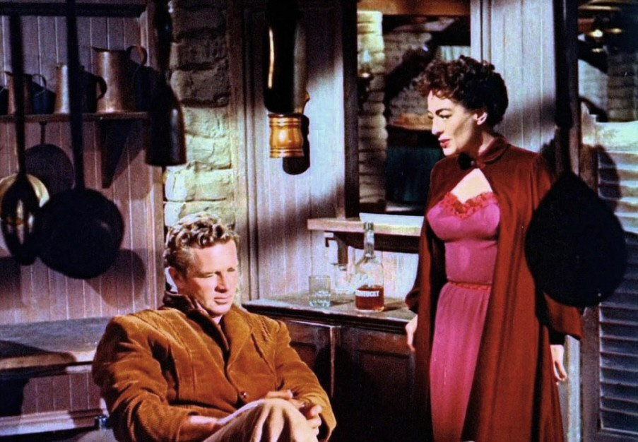 1954. 'Johnny Guitar.' With Sterling Hayden.