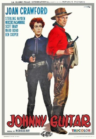 An Italian poster for 'Johnny Guitar.'