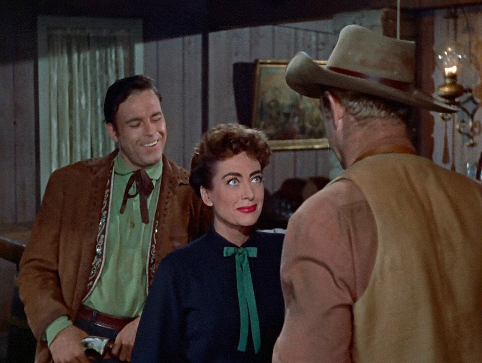 1954. 'Johnny Guitar.' With Scott Brady and Sterling Hayden.