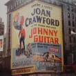 1954 billboard for 'Johnny Guitar' in Times Square. (The Loew's Mayfair, at the corner of 7th Ave and 47th Street.)