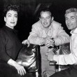 With director Joseph Pevney and Jeff Chandler. (Thanks to Shane.)