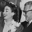 May 13, 1955. Newlyweds arrive in Los Angeles.