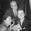 1955. With Al Steele and Jackie Cooper.
