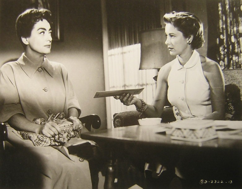 1956. 'Autumn Leaves.' With Vera Miles.