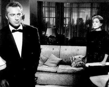 1957. 'Esther Costello,' with Rossano Brazzi.