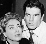With Tom Tryon in 1958's 'Strange Witness.'