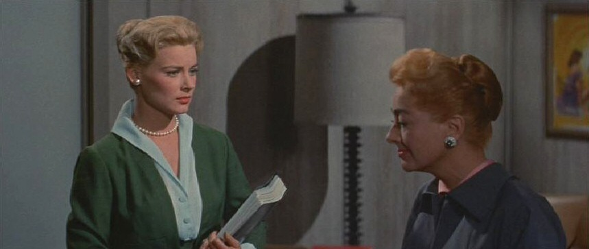 1959. 'The Best of Everything.' With Hope Lange.