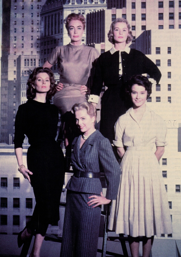 1959. Female cast of 'Best of Everything.' (Thanks to Bryan Johnson.)
