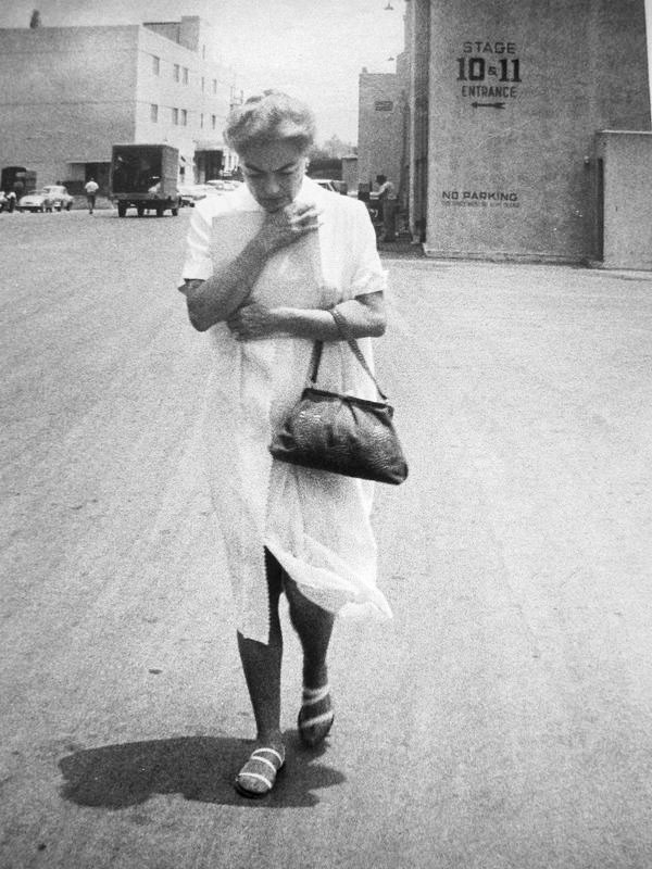 1959. On Fox lot during the filming of 'The Best of Every