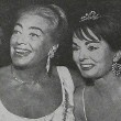 April 1962, at unknown event with Ann Blyth.