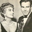 April 9, 1962. With Maximilian Schell, winner of the Best Actor Oscar.