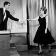 10/1/62. Joan on the debut episode of the 'Tonight' show.