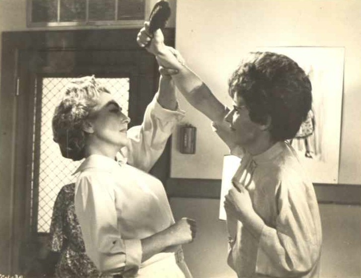 1963. 'The Caretakers.' With Polly Bergen.