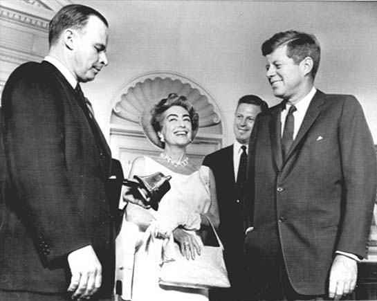 May 3, 1963, with President Kennedy.