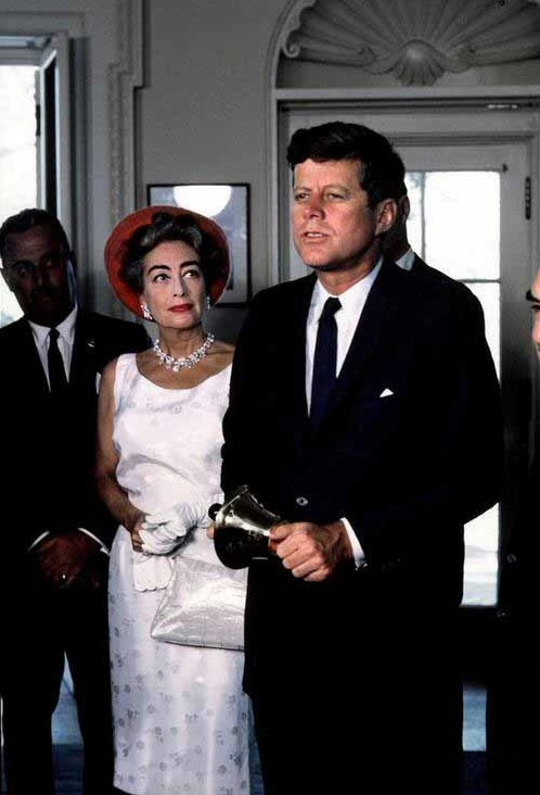 May 3, 1963, with President Kennedy. (Thanks to Bryan Johnson.)
