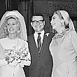 Christina marries director Harvey Medlinsky on May 20, 1966.