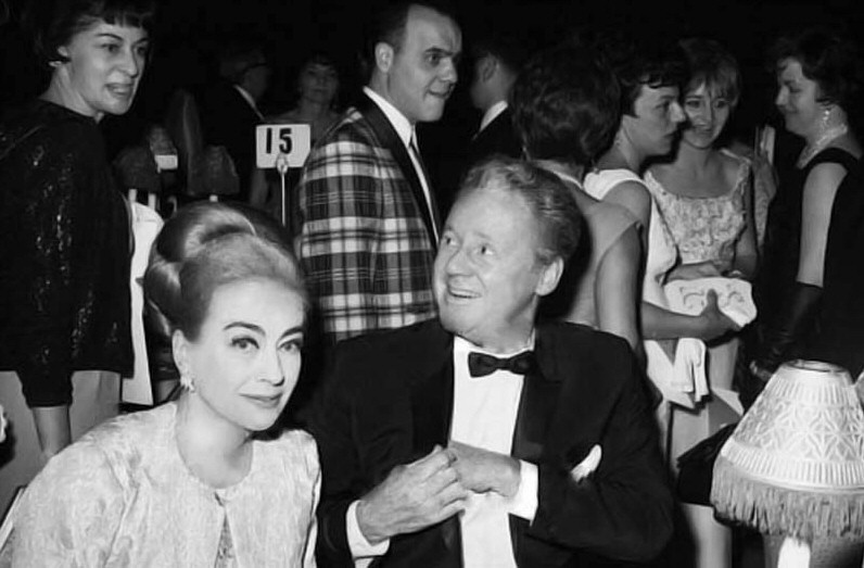 3/12/67. With Van Johnson at the Waldorf's benefit for Brain-Injured Children. (Thanks to Bryan Johnson.)