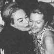 With Joan Fontaine at November 1972 release of new Tallulah Bankhead book.
