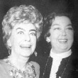 Joan's final public appearance. 9/23/74, at a 'Legendary Ladies' event at the Rainbow Room to honor Rosalind Russell (pictured here).