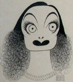 Year unknown, by Al Hirschfeld.