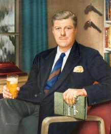 James Warner Bellah ad for Lord Calvert Canadian whiskey.