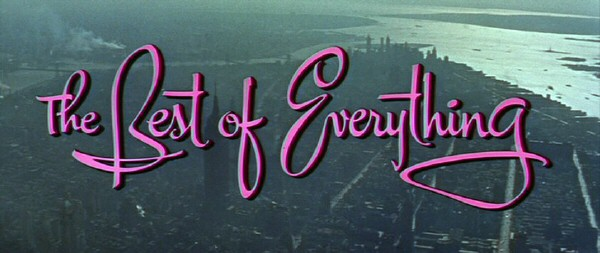 1959. 'The Best of Everything' title screen shot.