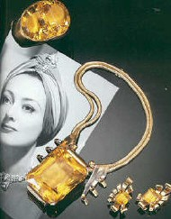 A citrine collection.