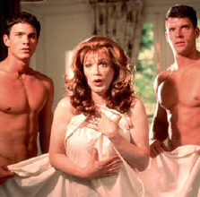 Charles Busch, center, as 'Angela Arden' in 2003's 'Die, Mommie, Die!'